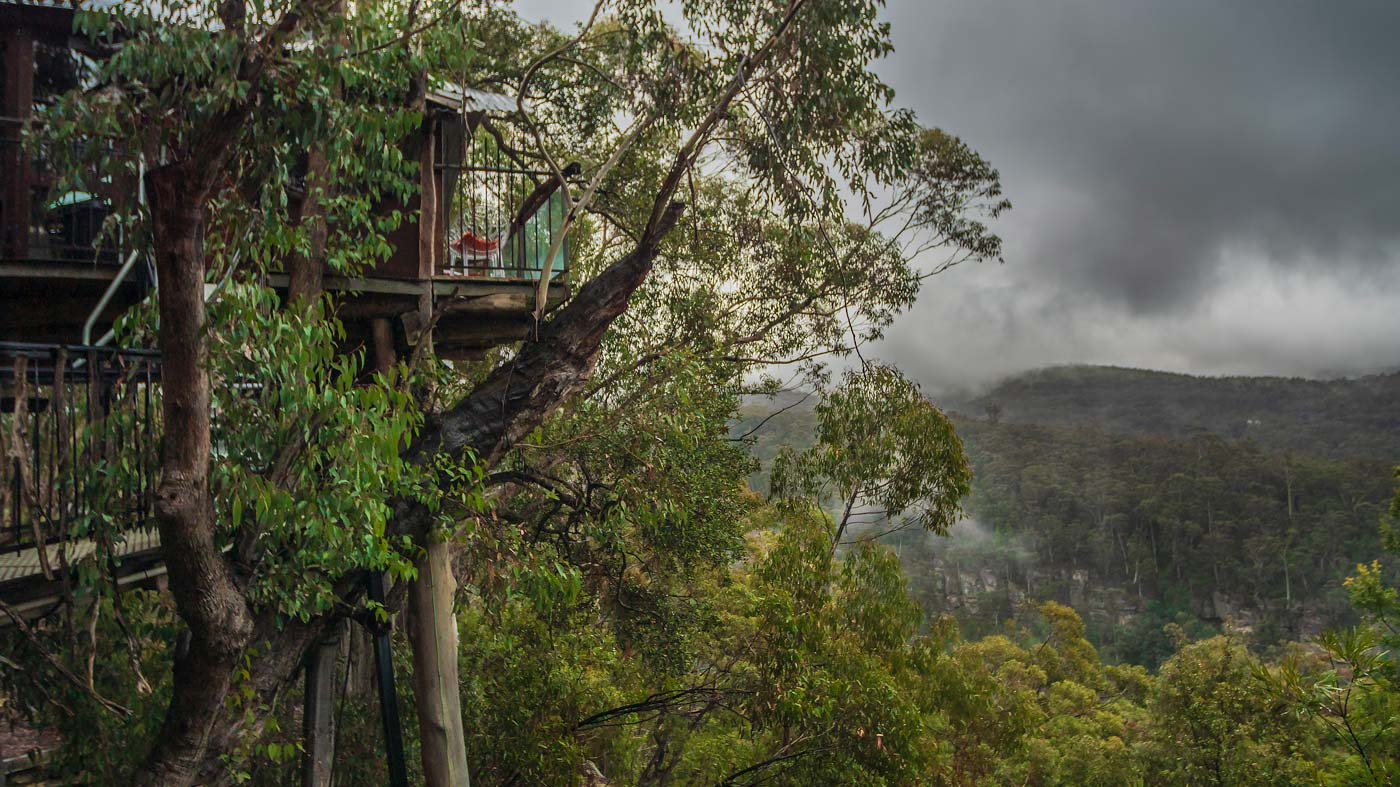 Wollemi Cabins Treehouse